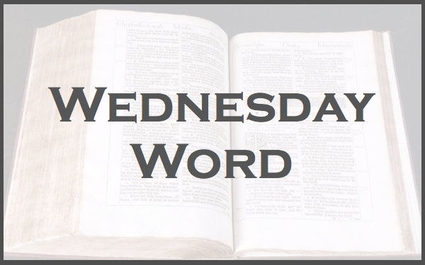 Wednesday Word 2.001
