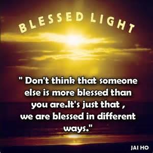 blessed light