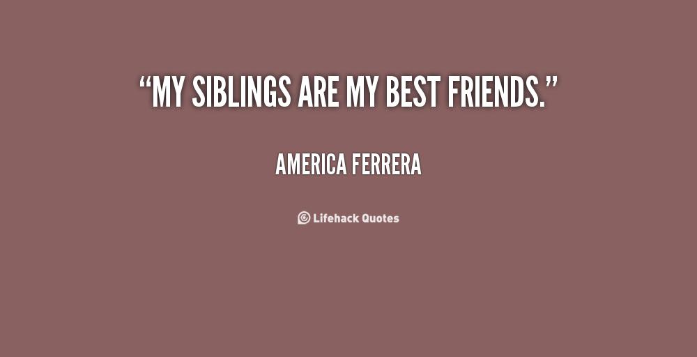 Daily Good Stuff 261:Siblings